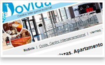 Residencia Ovida. Email marketing