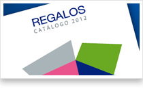 Catálogo de regalos 2012. Iniciativas de Marketing